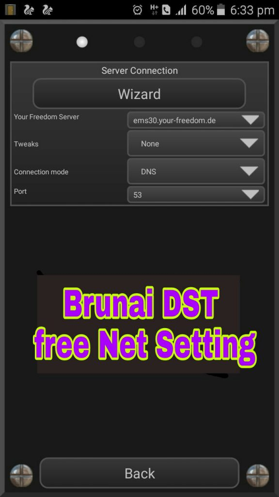 Your Freedom vpn Brunei free net setting