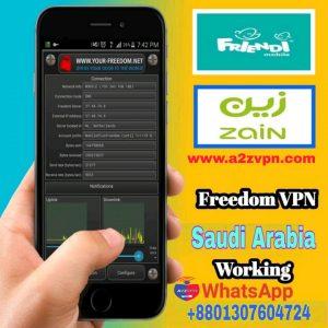 Saudi Arabia free internet by Your freedom vpn